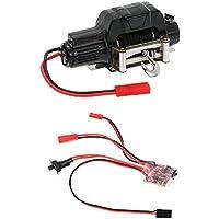 Goolsky 1/10 elettrico automatico Crawler Winch e Switch Controller per RC 1/10 JEEP Axial SCX10 AX10 Tamiya CC01 HSP Traxxas RC4WDc30A spazzolato ESC