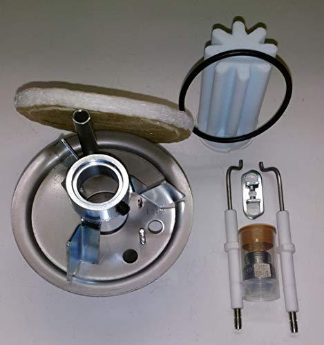 Buderus Mischsystem komplett Set 1.1 HP BRE 1.1-21 kW geeignet für schwefelarmes Heizöl mit Anleitung - Brenner-umrüstsatz