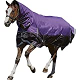 Weatherbeeta Comfitec Plus Dynamic Combo Neck Medium/Lite - Purple/Black - Size: 6'3
