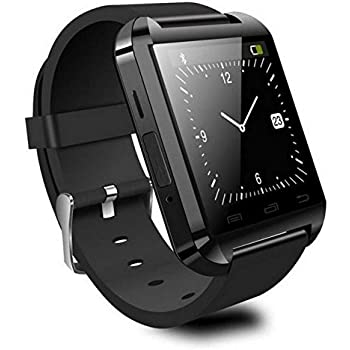 Reloj Inteligente Smartwatch Bluetooth Negro con notificaciones y ...