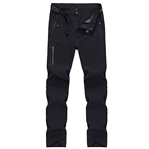 Men's Waterproof Hiking Trousers Dry-Fast Breathable Trousers Lightweight Outdoor Travel Pants