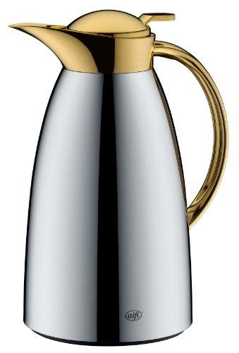 Alfi Gusto Arabic aus metall verchromt mit gold Ausgießer