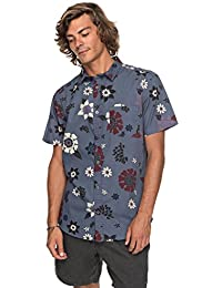 Quiksilver Sunset Floral - Camisa de Manga Corta para Hombre EQYWT03634 09623f9874c