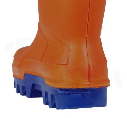 Dunlop Thermo Plus PU-Stiefel - Winterstiefel Orange