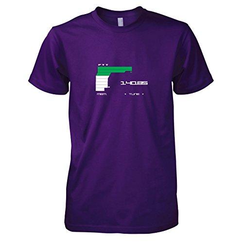 (TEXLAB - MGS Communications - Herren T-Shirt, Größe XXL, violett)