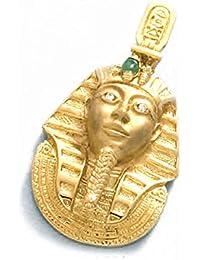 LIOR - Colgante Oro 18k (750) Tutankamon -17gr