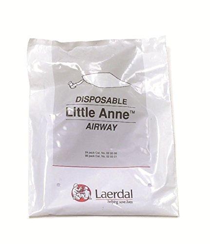 Leardal Little Anne Luftröhre, Zubehör für Wiederbelebungspuppe, 24-Stück-Packung
