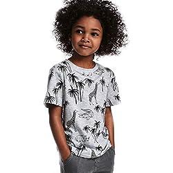 Sweat-Shirt Bébé Garçon Fille Hiver Chaud, Enfant Unisexe Sweats Renard Modèle Animal Épais Pull Kawaii Doux Sweatshirt Tops BaZhaHei(18-24 Mois,Gris)