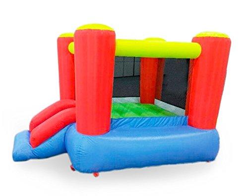 Desconocido Castillo hinchable infantil 250 x 200 x 160 cm con turbina de hinchado CH10