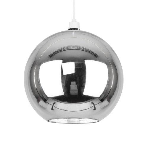 stunning-modern-silver-chrome-glass-ball-ceiling-pendant-light-shade