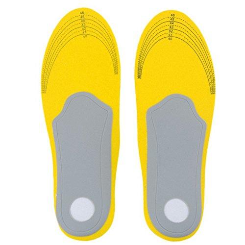 Schuhe Einlegesohlen Pads, Minkoll Komfortable Orthesen Arch Support Schuhe Einlegesohlen Pads Kissen Fußpflege Schmerzmittel (S)