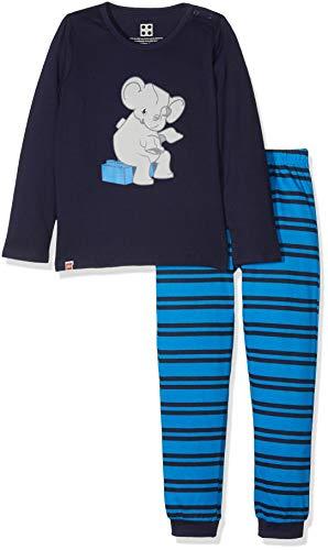 Lego Wear Baby-Jungen Zweiteiliger Schlafanzug Duplo Boy CM-73449 Pyjama, Blau (Dark Navy 590), 80