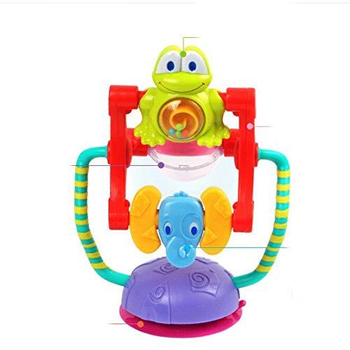Sanzhileg Ruota panoramica Rotante Animale Giocattolo per Bambini Giocattoli per Bambini 0-12 Mesi Brinquedos para Bebe Ruota scuotimenti Bebek Oyuncak - Multicolore