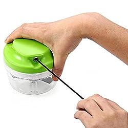 Pinkdose Green: Ezlife Multifunctional Household Hand Chopper Manual Rope Food Processor Silcer Shredder Salad Maker Cozinha Tool Lpt1421