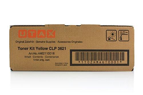 Preisvergleich Produktbild Triumph-Adler CLP 4621 - Original Utax / 4462110016 Toner Yellow - 5000 pages