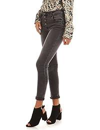 La Modeuse Jeans slim froissé