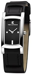 Ted Lapidus - D0418RNPN - Montre Femme - Quartz Analogique - Cadran Noir - Bracelet Plastique Noir