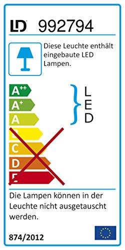 LED-Deckenfluter dimmbar mit flexibler Leselampe, RGBW Farbwechsel per Fernbedienung, Stehleuchte Standleuchte LED-Fluter, Leseleuchte 1850 Lumen eckig