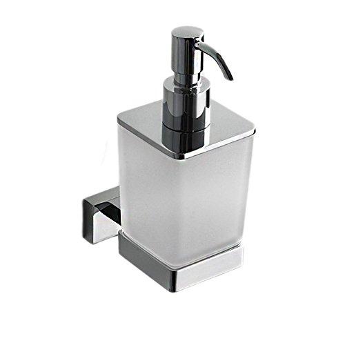 ZY Seifenspender, Badezimmer Drücken Sie manuell Seifenspender Duschgel Flasche Kupfer Seifenhalter Badezimmer Badezimmer Hand Sanitizer Flaschen