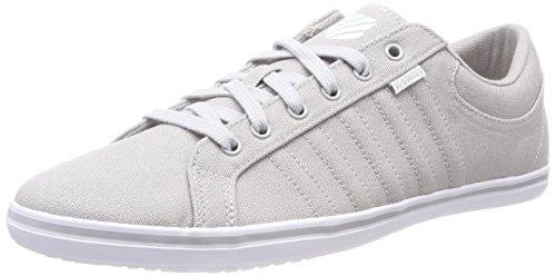 K-Swiss Herren Hof IV T VNZ Sneaker, Grau (Gull Gray/White/White 024), 45 EU
