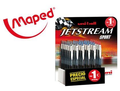 Uni Jetstream Sport–Penna, 1.0mm, Multicolore