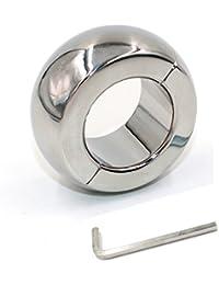 NWEDO Smooth Edge Metal Ring Men Stainless Steel Allen Wrench Kit Training Rings