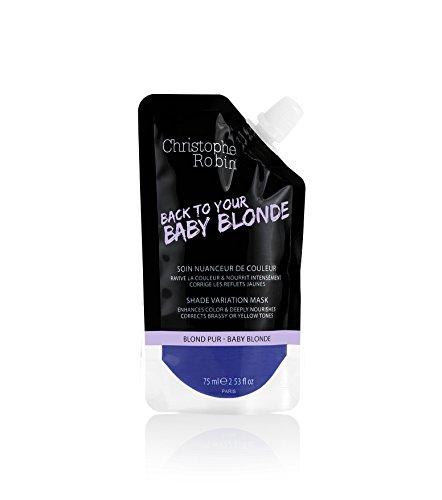 Christophe Robin Shade Variation Care Baby Blond 75 ml Sanfte Farbtonpflege für coloriertes & blondiertes Haar