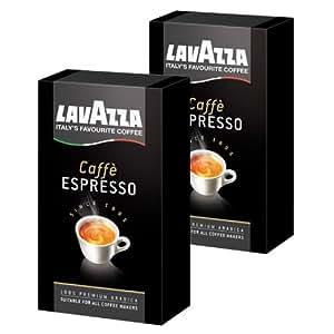 lavazza caff espresso gemahlen kaffee geeignet f r. Black Bedroom Furniture Sets. Home Design Ideas