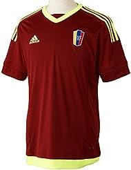 Adidas para hombre de manga corta camiseta de Venezuela réplica de jugadores-Inicio, primavera/verano, hombre, color Rojo - Collegiate Burgundy/Solar Yellow, tamaño XXL