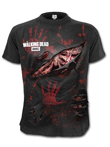 Spiral -  T-shirt - Uomo Black X-Large