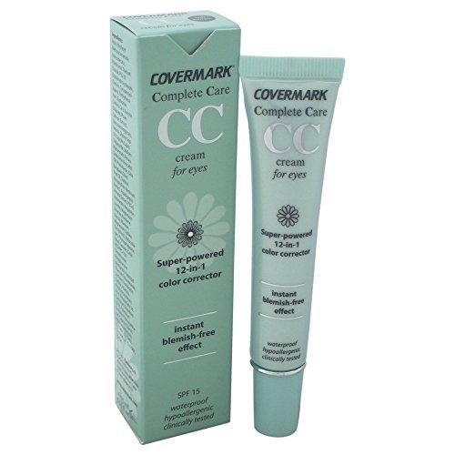 CC Crème contour des Yeux 15 ML SOFT BROWN Complete care - COVERMARK - Correcteur de teint 12 en 1