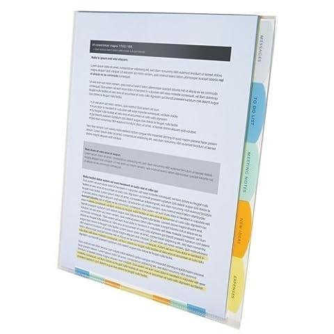 Wilson Jones View-Tab Professional Sorter, 5 Tabs, Letter Size, Multi-Color