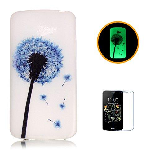 casehome-lg-k5-luminoso-custodia-con-gratuito-hd-proteggi-schermo-effetto-verde-night-glow-nella-not