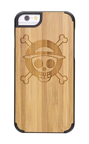"""SunSmart Housses classique en bois iPhone 6 Plus Housse en bois naturel de protection pour iPhone Plus 5.5""""-26 24"""
