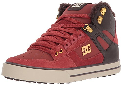 DC Women's Spartan High WC Wnt Skate Shoe, Coffee, 8 D D US (Wc Skate)