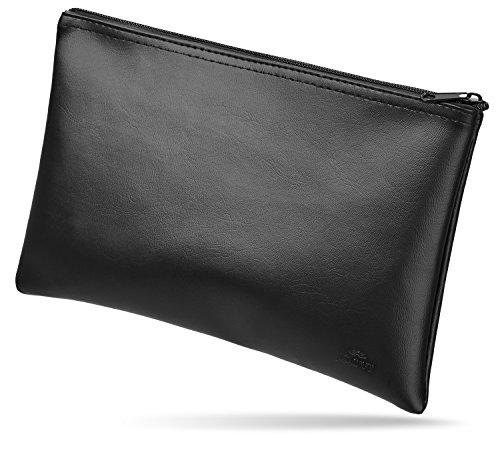 Banktasche von JOOVI - verstaut Scheine und Münzen sicher - Geldbeutel in Lederoptik mit schönem Design