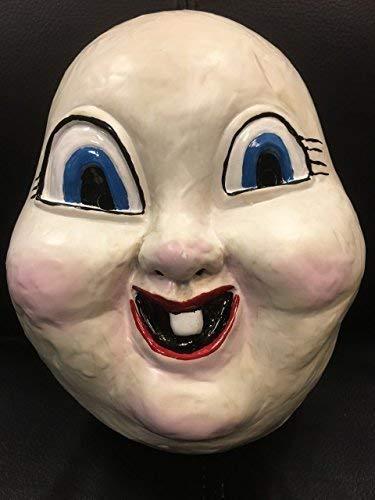 Wrestling Happy Death Tag - Halloween Kostüm Cosplay Sehr Hartplastik Maske - Kostüm Kostüm Horrorfilm Outfit - Universell mit Elastischer Band