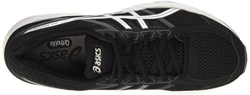 Asics Gel-Contend 4, Chaussures de Course pour Entraînement sur Route Homme Noir (Black/silver/carbon)
