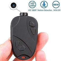 MATECam Mini-Spionagekamera, Full HD 1080p, Videorekorder, Mini-Kamera, Stimm- und Bewegungsaktiviert,