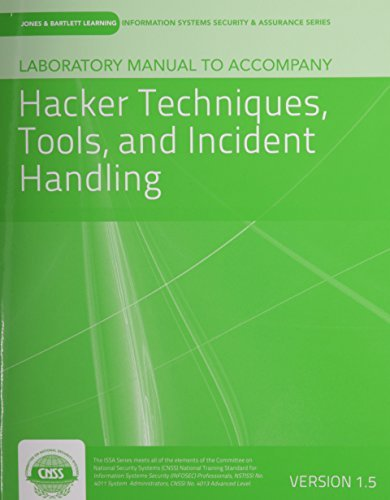 Laboratory Manual Version 1.5 To Accompany Hacker Techniques, Tools, And Incident Handling by vLab Solutions (2013-06-25) par vLab Solutions