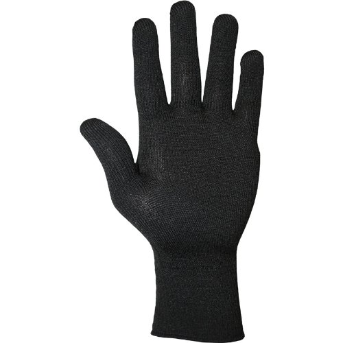 Weise Cotton Motorrad-Unterziehhandschuhe - Baumwolle - leicht - Schwarz - M