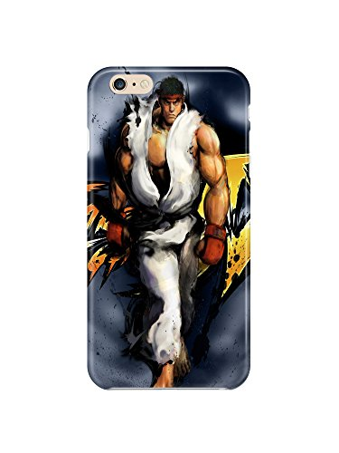 i6ps 0600 Ryu Street Fighter Glossy Coque Étui Case Cover For iPhone 6 Plus (5.5)