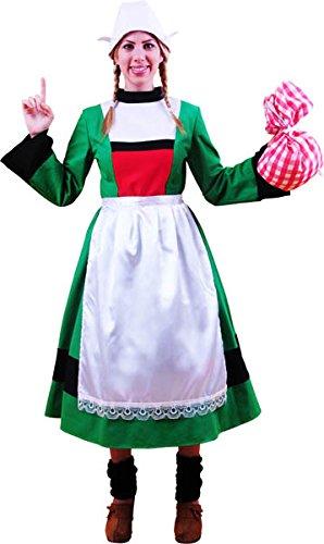 Kostüm, Motiv Bécassine–Erwachsene