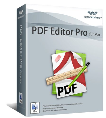 PDF Editor PRO MAC Vollversion (Product Keycard ohne Datenträger)