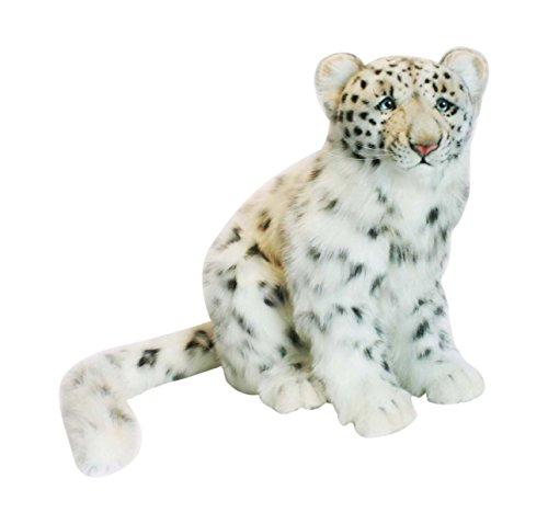 HANSA Peluche Leopardo de Las Nieves Sentado 40CMH/45cml