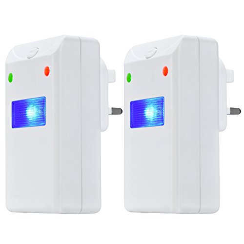 ReviewMeta com: (2-pack) TopElek Ultrasonic Pest Repeller