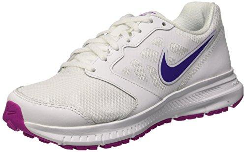 Nike Wmns Downshifter 6 Scarpe da Ginnastica, Donna, Multicolore (White/Pink), 38