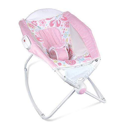 Tcaijing Babyschaukel baby schütteln blauer Stuhl Baby Schaukel Stuhl Multifunktions elektrische Wiege Liege beruhigende
