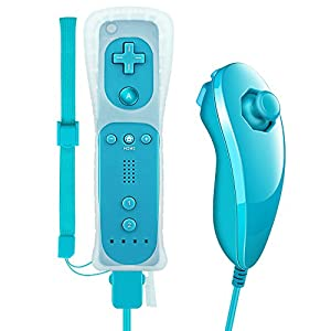 Jevogh GR73 Wii Remote Controller and Nunchuck for Nintendo Wii / Wii U