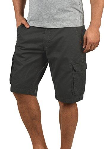 SHINE Original Michigan Herren Cargo Shorts Bermuda Kurze Hose Aus 100{5ea8d0e915eeae1d085a9181902b9e72fd533d1697670a1be4767413cccb755c} Baumwolle Regular Fit, Größe:S, Farbe:Dusty Black